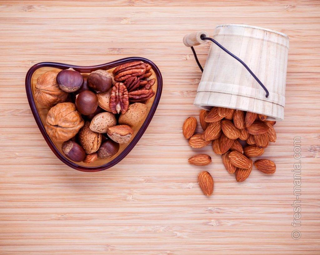 Замачивание орехов и семечек
