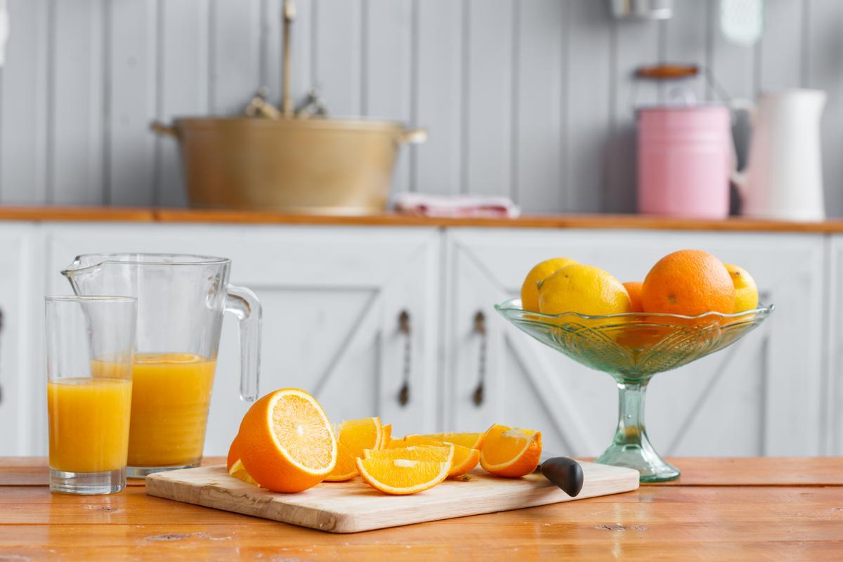 Апельсиновый сок: свежий против магазинного