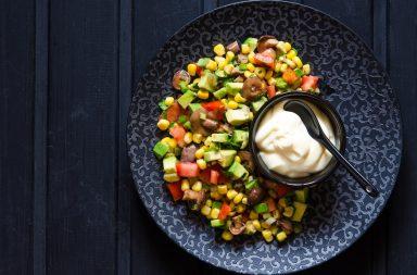 Веганский майонез – популярный соус в здоровом варианте