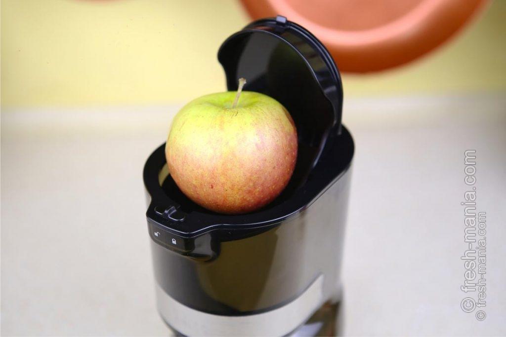 Секция для обработки цельных фруктов и овощей