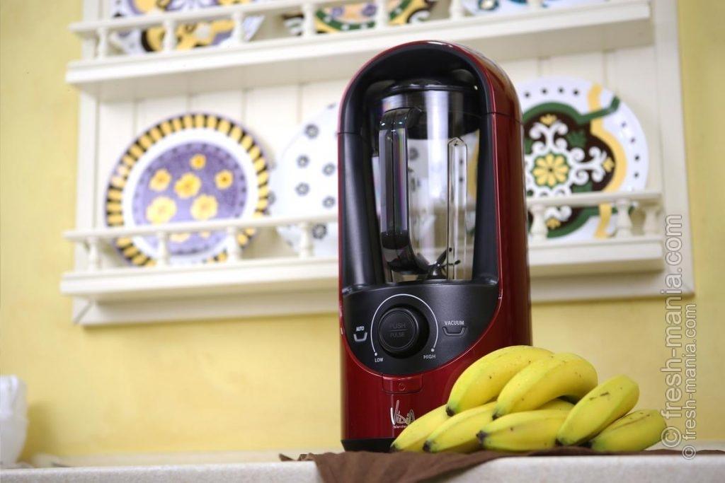 Бананы приготовились к условиям вакуума