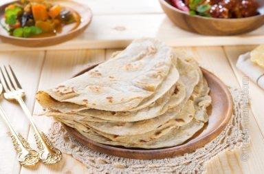 Чапати – индийские лепешки