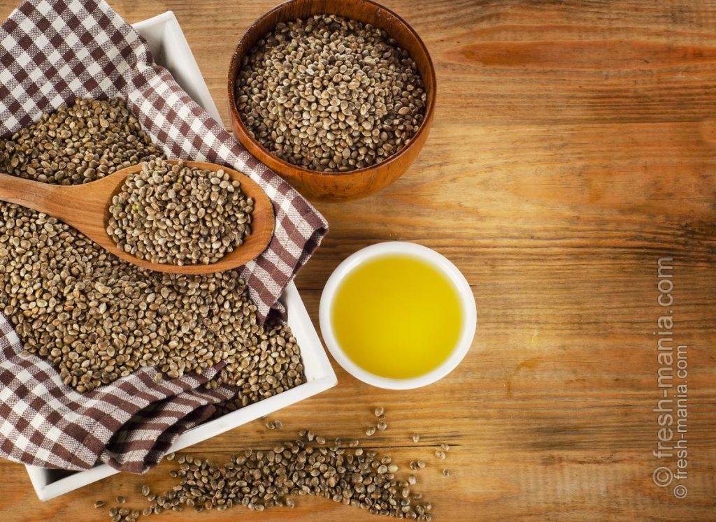 В основе конопляного крема – свежевыжатое масло