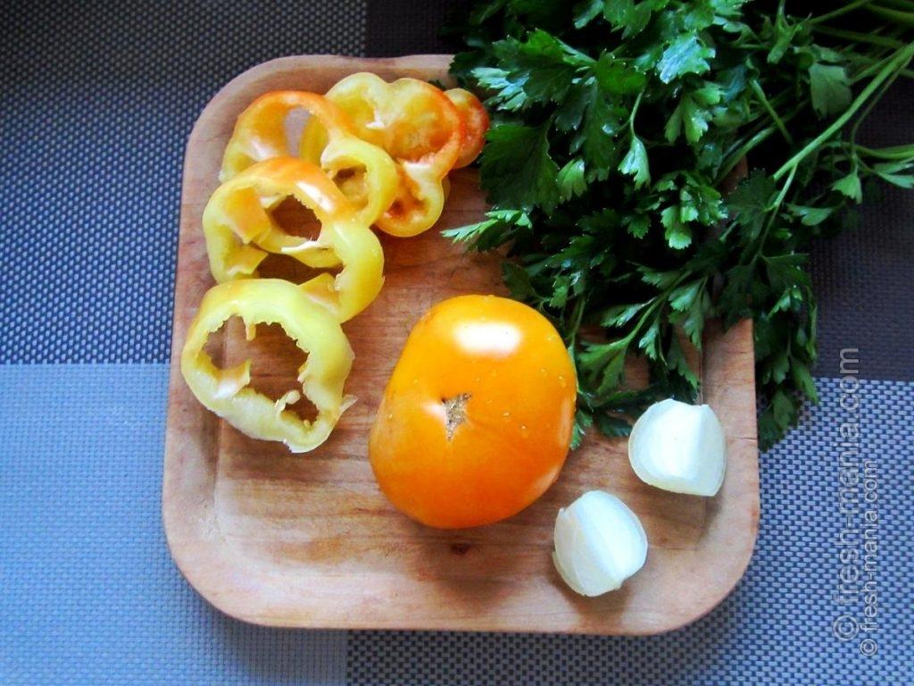 Вегетарианская уха