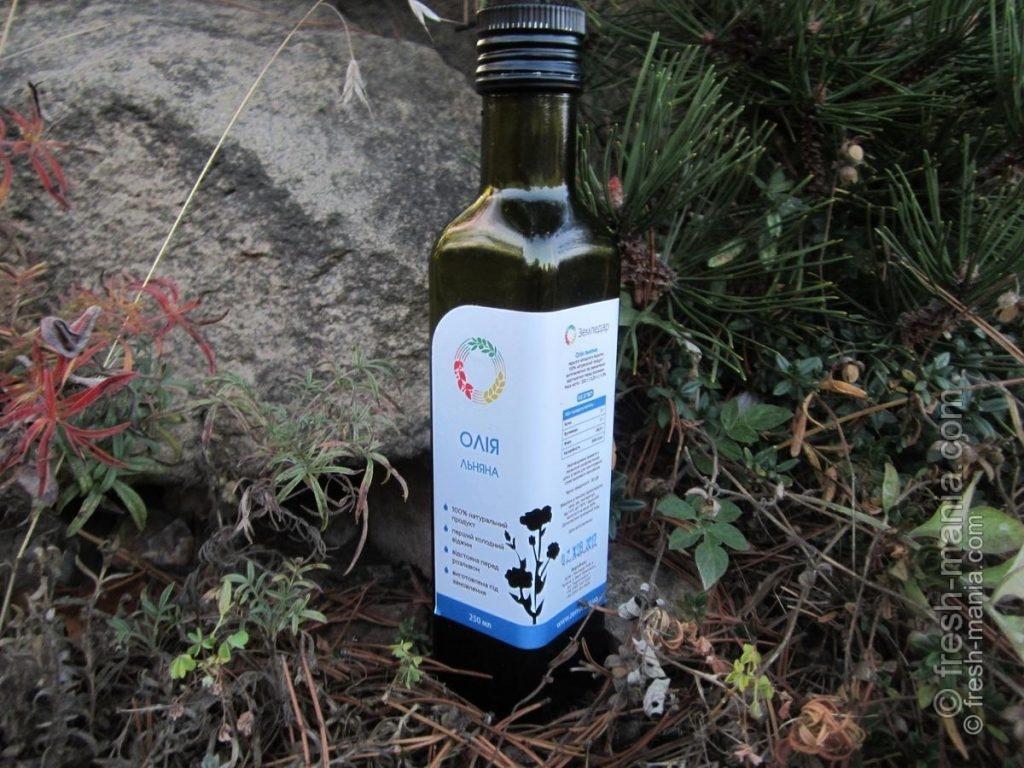 Свежевыжатое льняное масло от компании Земледар™