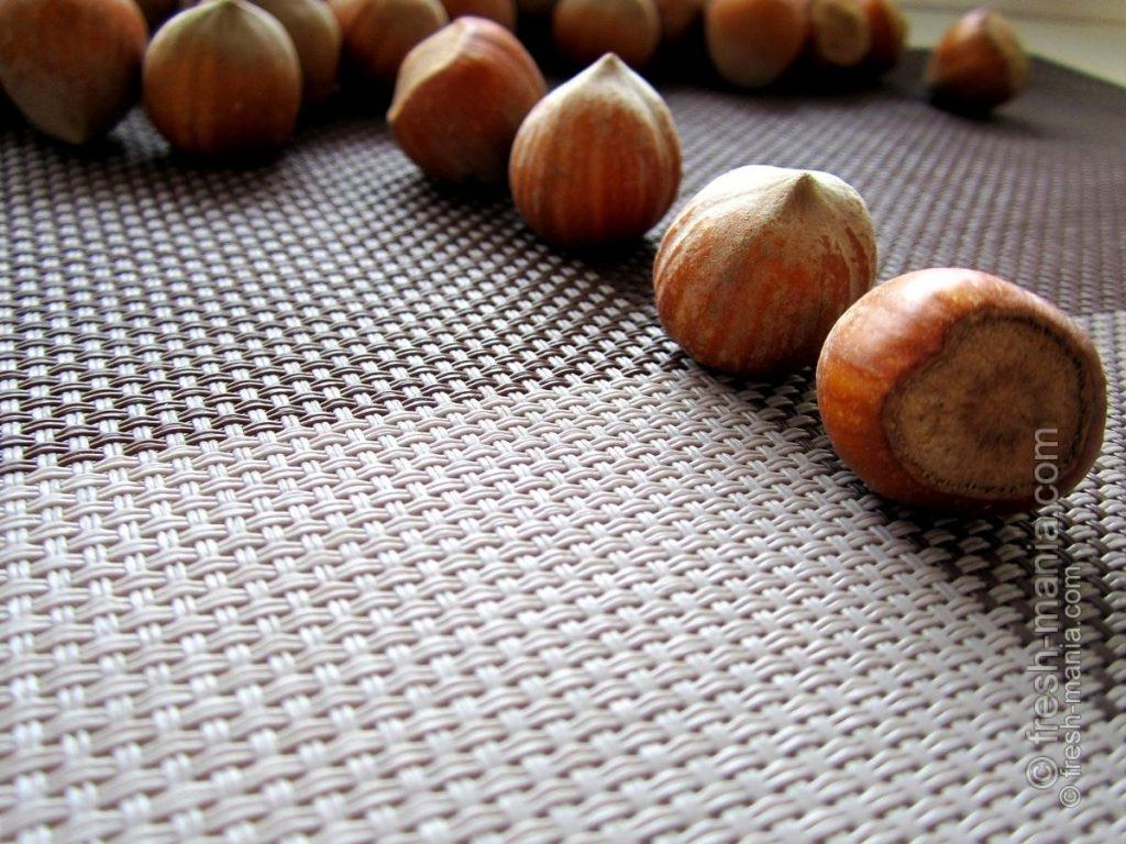 Лесные орехи и фундук