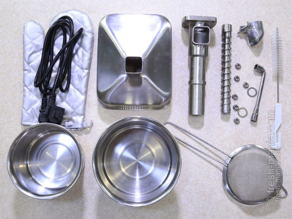 Заводская комплектация Pure Oil Extractor