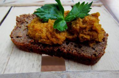 Вегетарианский паштет на основе моркови