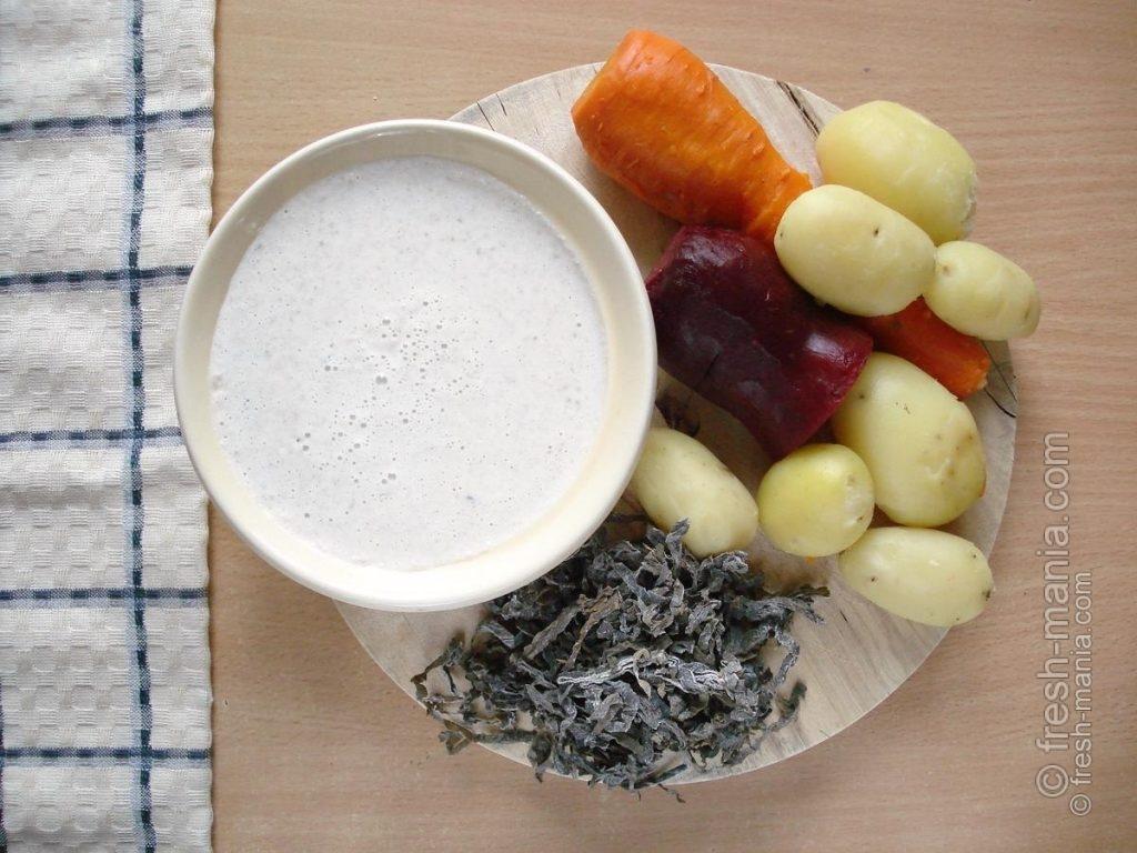 Ингредиенты прекрасно сочетаются по вкусу и усвояемости