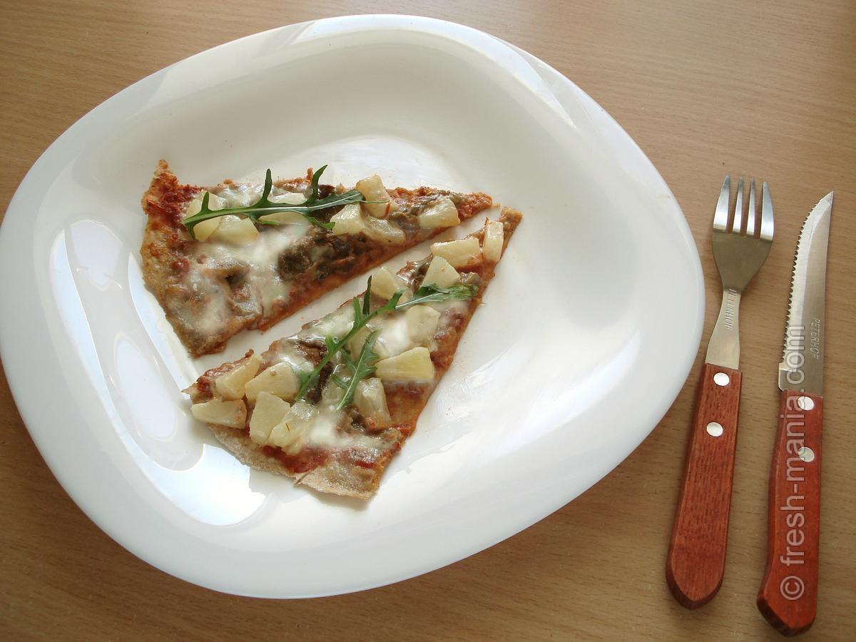 Веганская пицца – понравится всем!