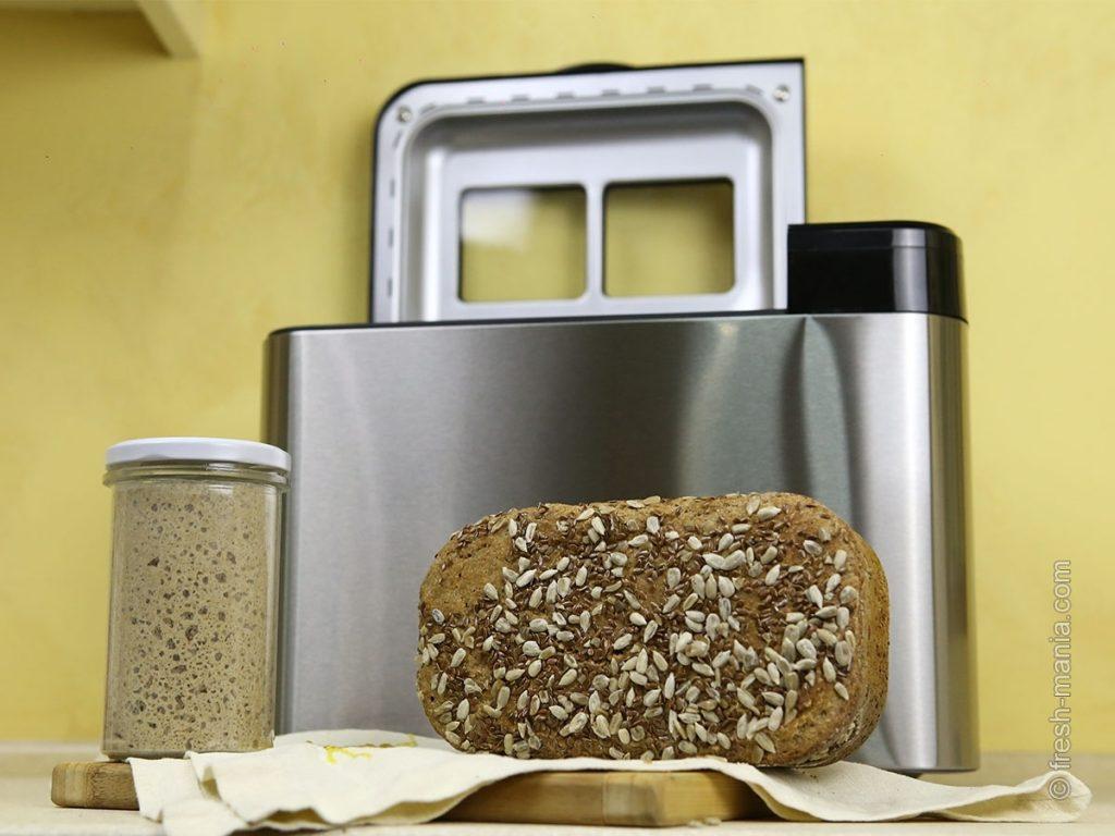 Хлебопечка Sana упростит до минимума процесс выпекания хлеба