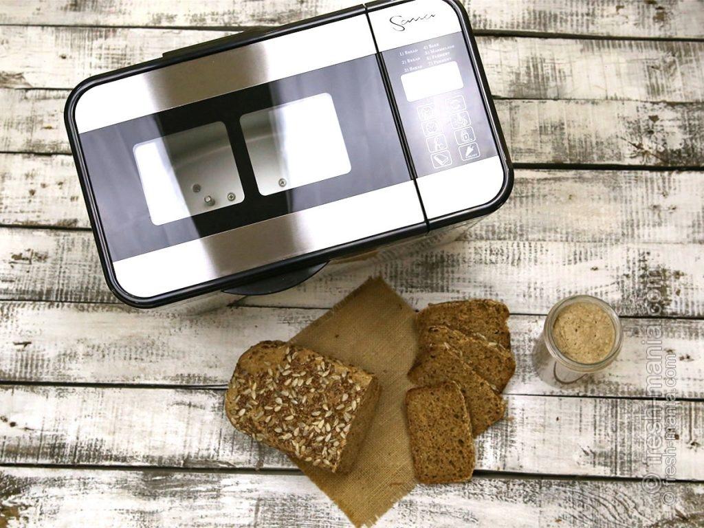 С хлебопечкой Sana можно готовить много здоровых блюд
