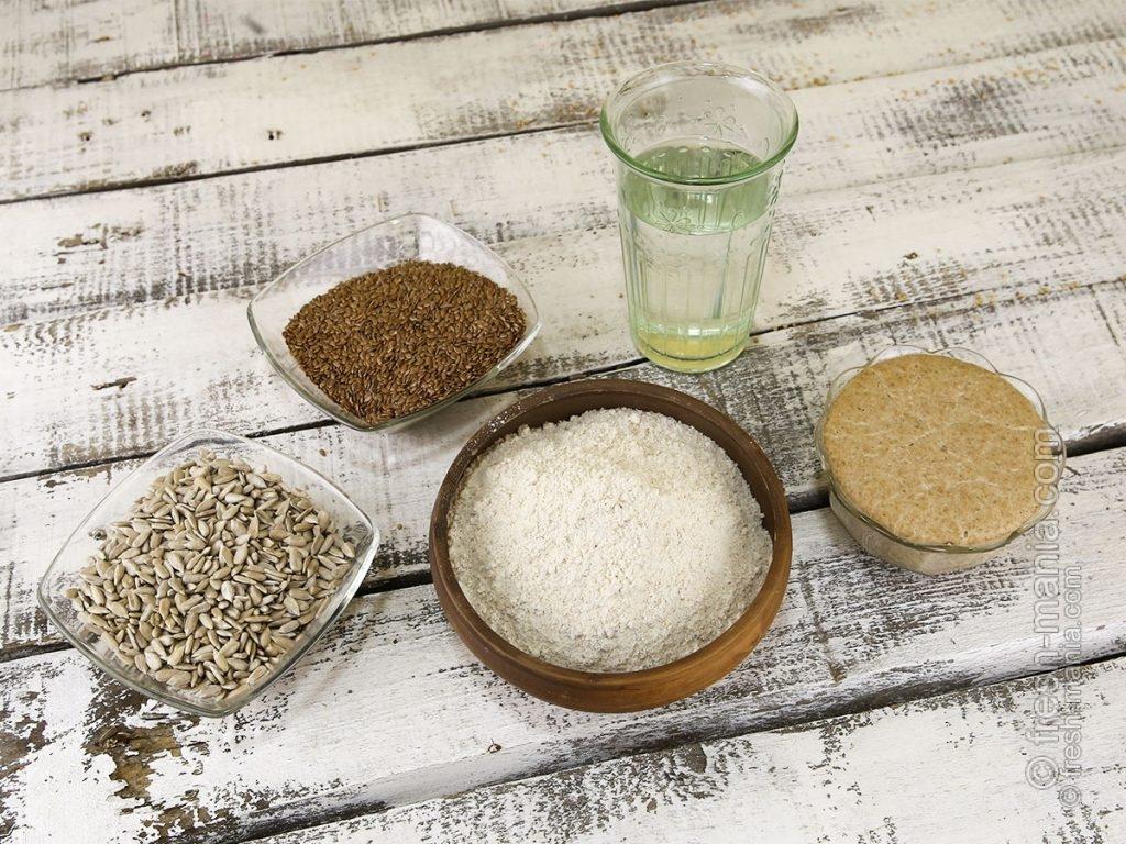 Ингредиенты, необходимые для выпечки хлеба
