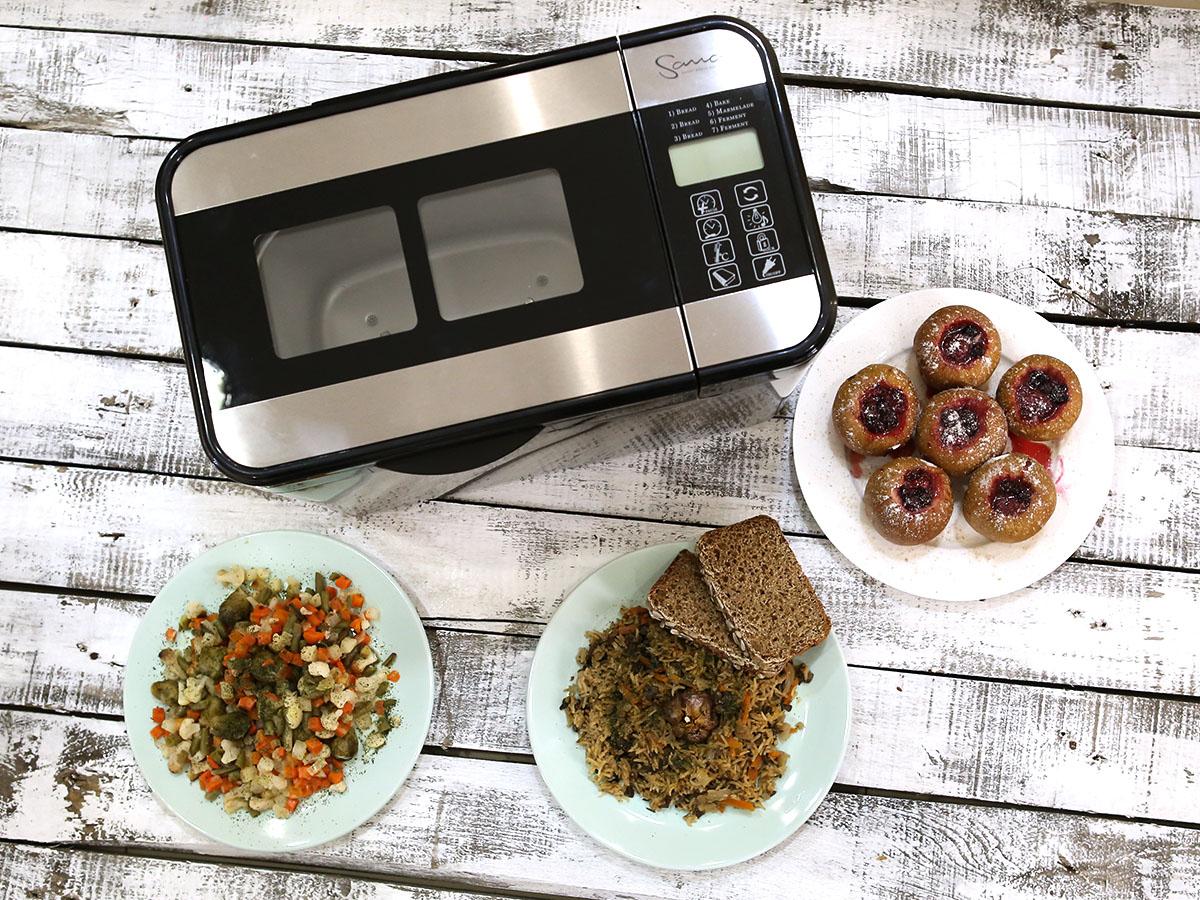 Рецепты для хлебопечки Sana: она способна на многое