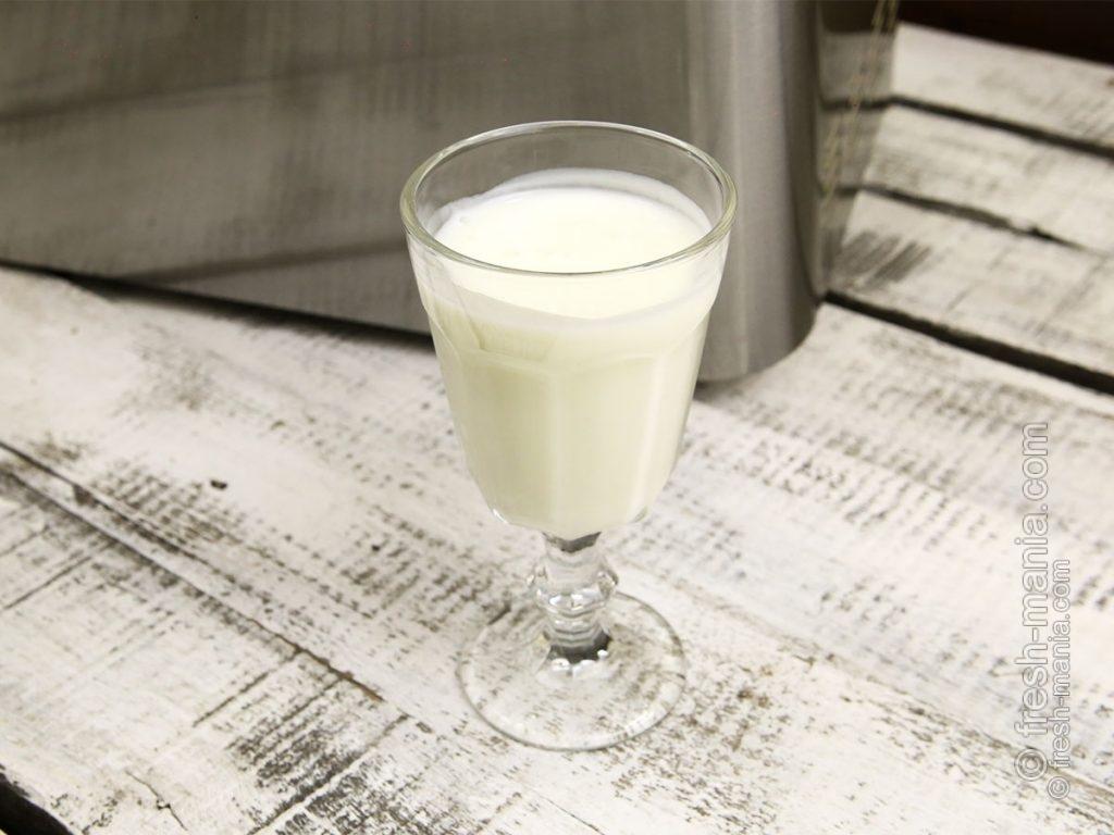 Домашний йогурт в хлебопечке Sana за 8 часов