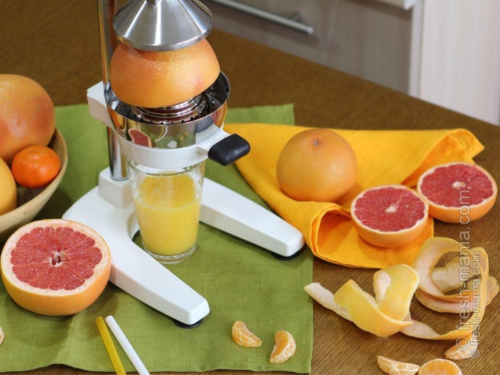 Sana Citrus Press – отличный выбор для быстрого приготовления сока из цитрусовых и гранатов