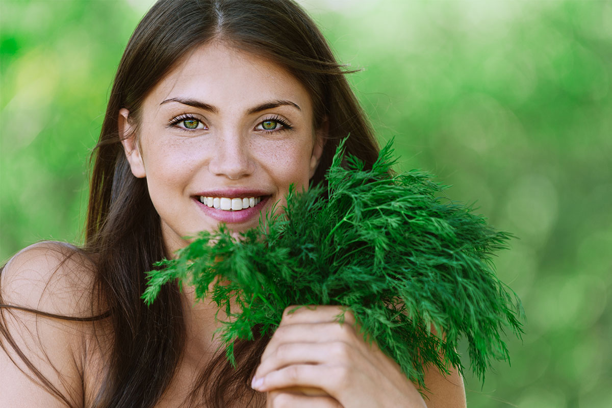 Полезные свойства зелени: петрушка, укроп, зеленый лук, кинза, шпинат – часть 1