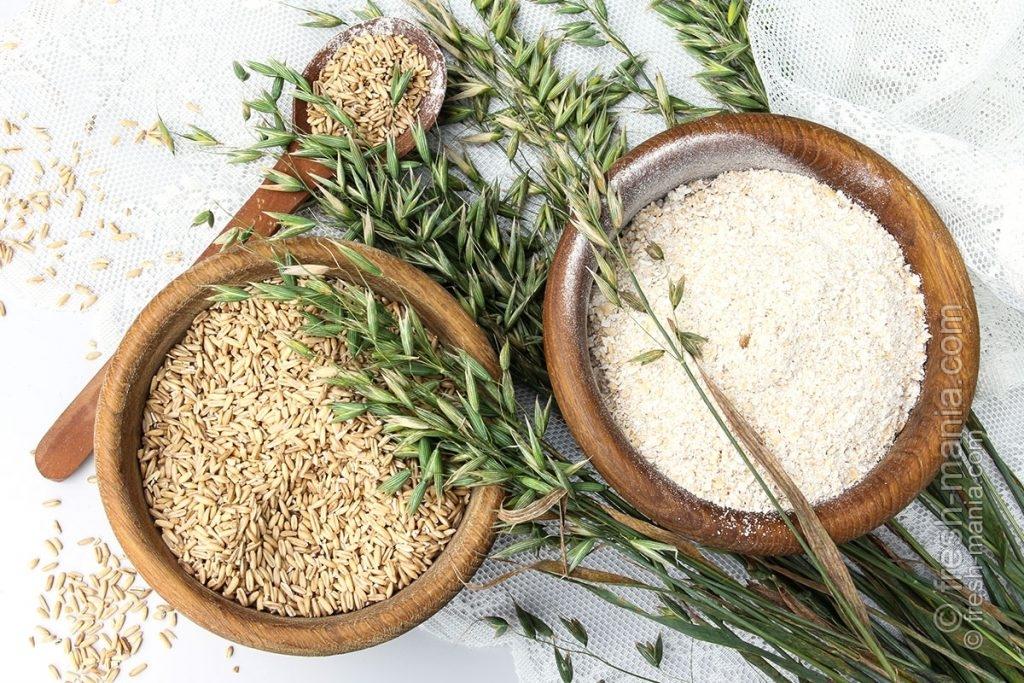 Жерновая мука производится только из натурального зерна самого высокого качества