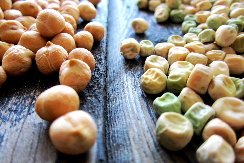 Полезные свойства нута и обычного гороха – природных усилителей вкуса