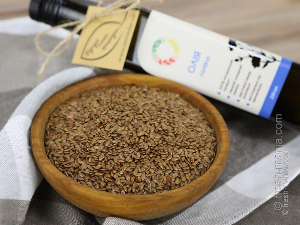 Льняное масло должно быть из экологически чистых семян