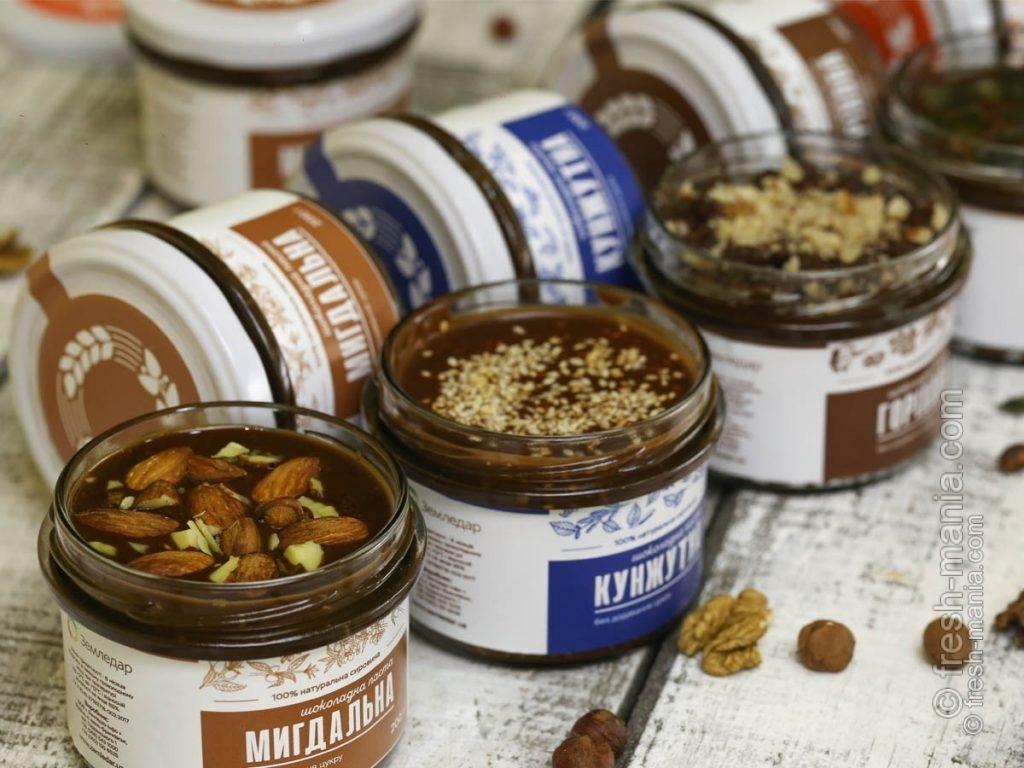 """Шоколадные десерты без сахара от компании """"Земледар"""""""