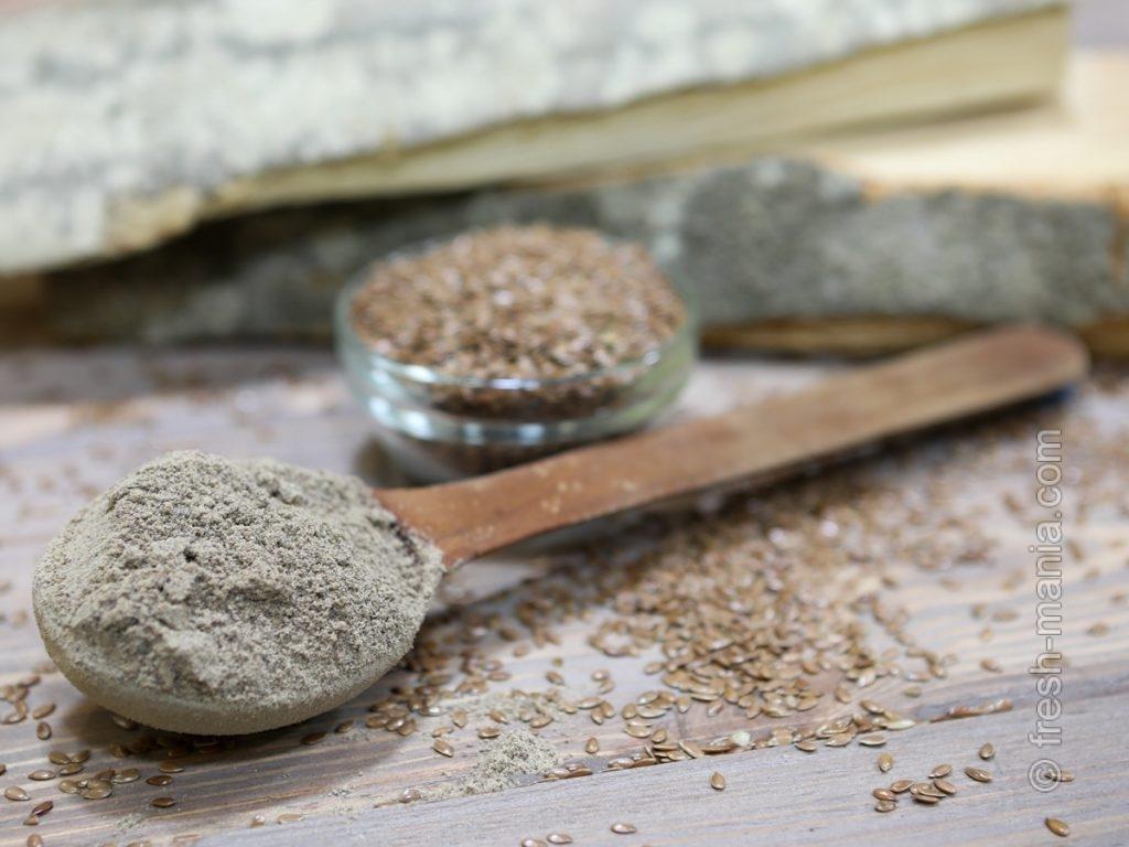 Главные полезности льняной муки – клетчатка, незаменимые жирные кислоты и лигнаны