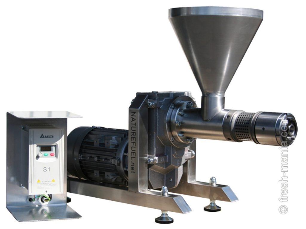Коммерческий металлический маслопресс Natural Oil Press NF500