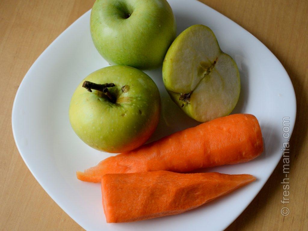 Хрустящие фрукты и овощи