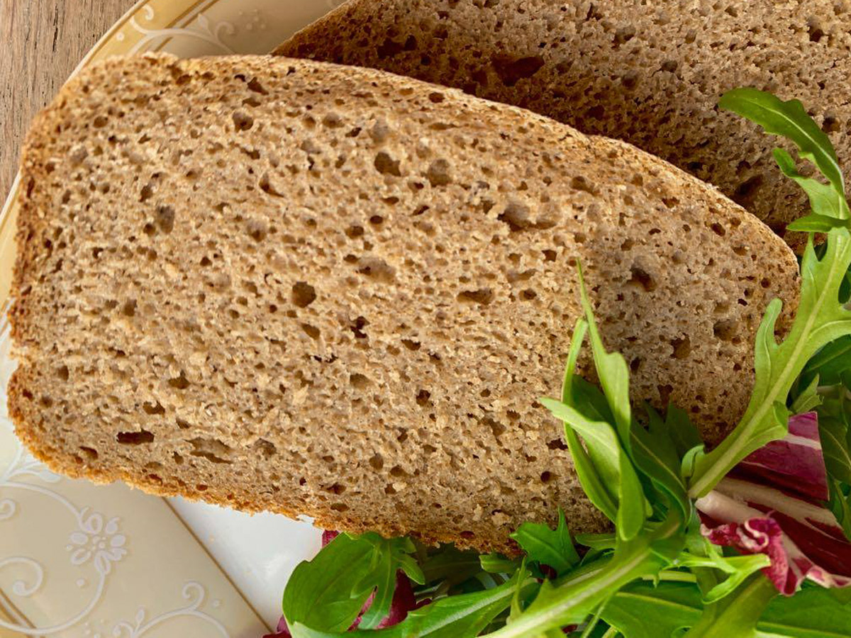 Дарницкий хлеб на закваске (рецепт для хлебопечки Sana)