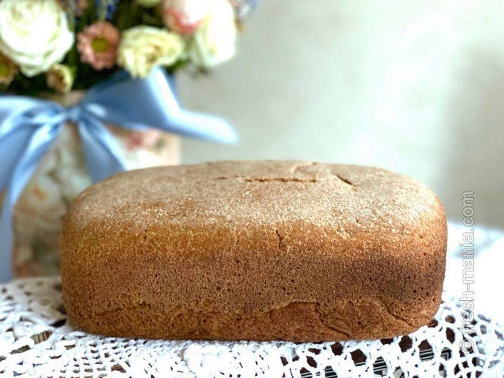 Готовый дарницкий хлеб