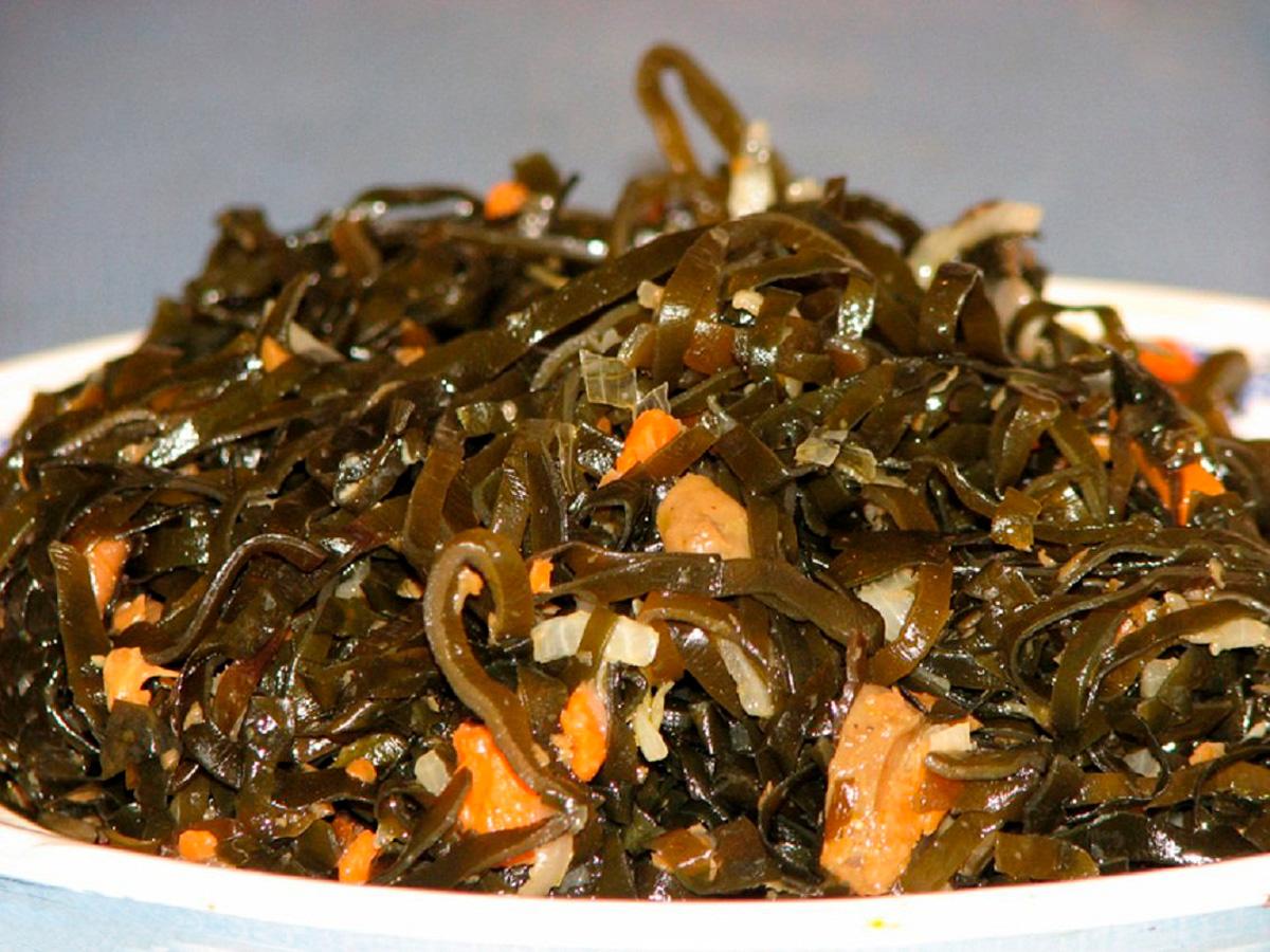Чем полезна морская капуста (ламинария)
