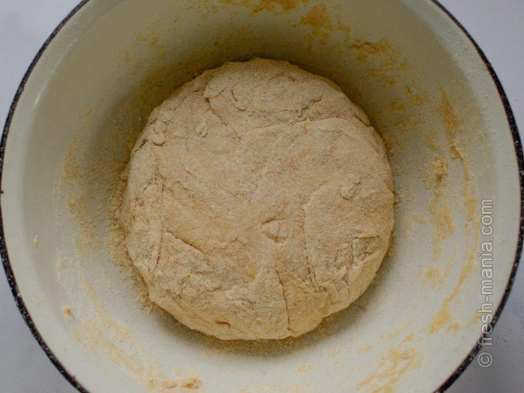 Быстрое тесто из цельнозерновой муки