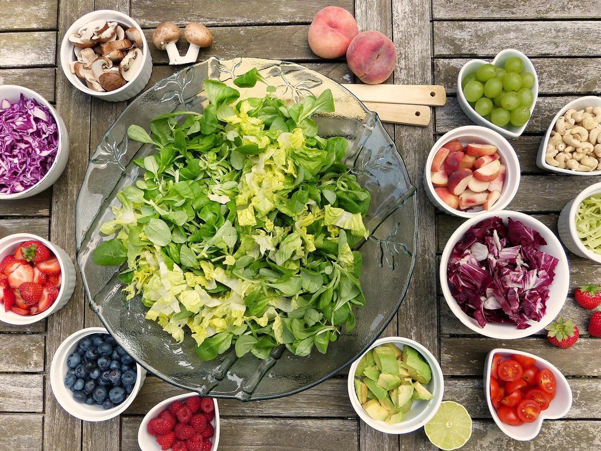 Правила здорового питания и таблица совместимости продуктов