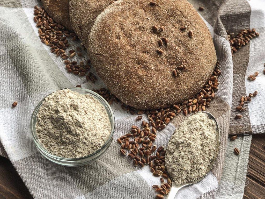 Попробуйте замечательные лепешки из чернобровой пшеницы