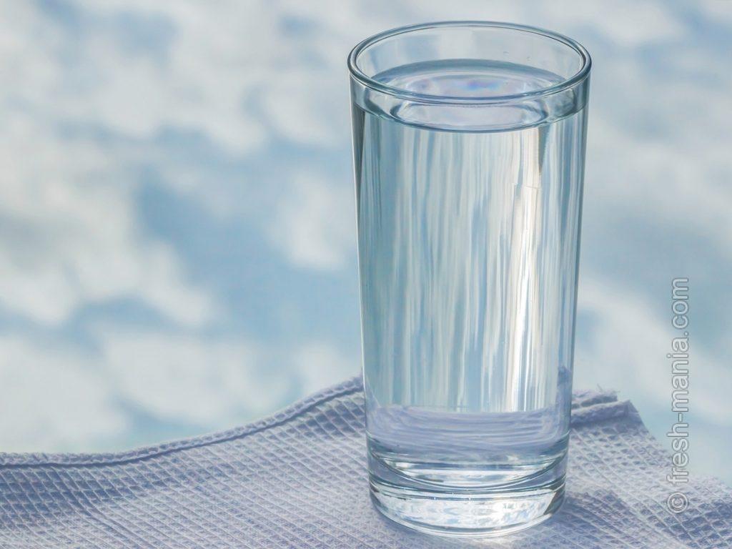 Достаточно воды – старое доброе правило