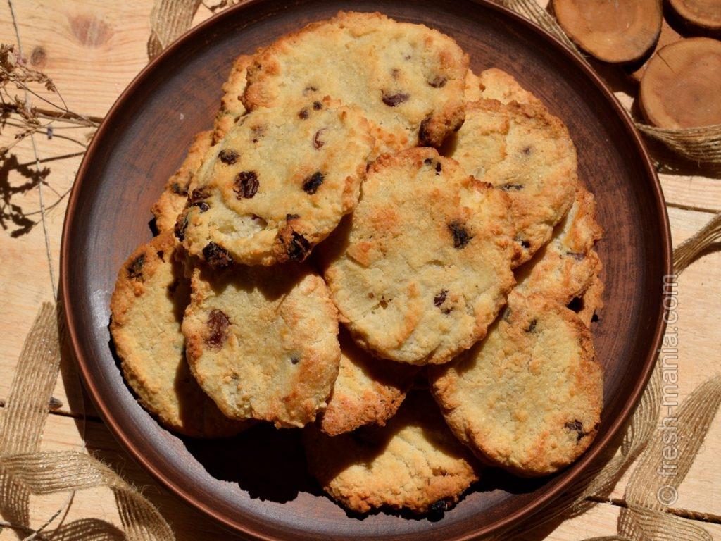 Ароматное миндально-кокосовое печенье