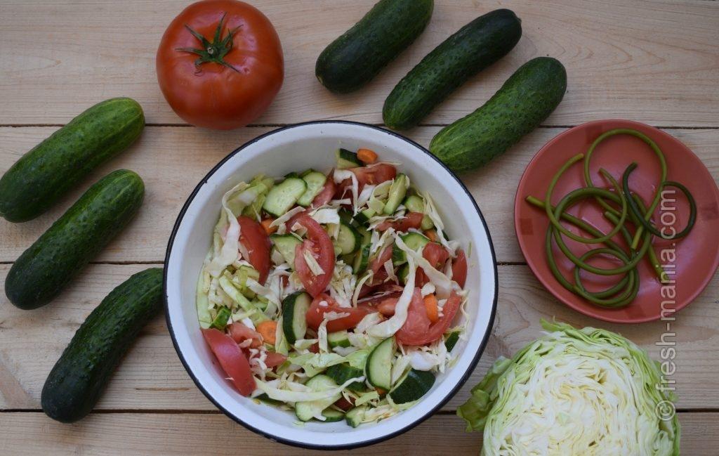 Простой и доступный летний салат