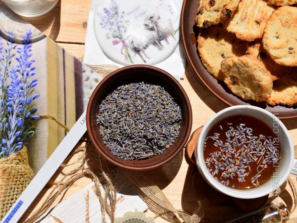 Чай с лавандой – эффективное средство от бессонницы