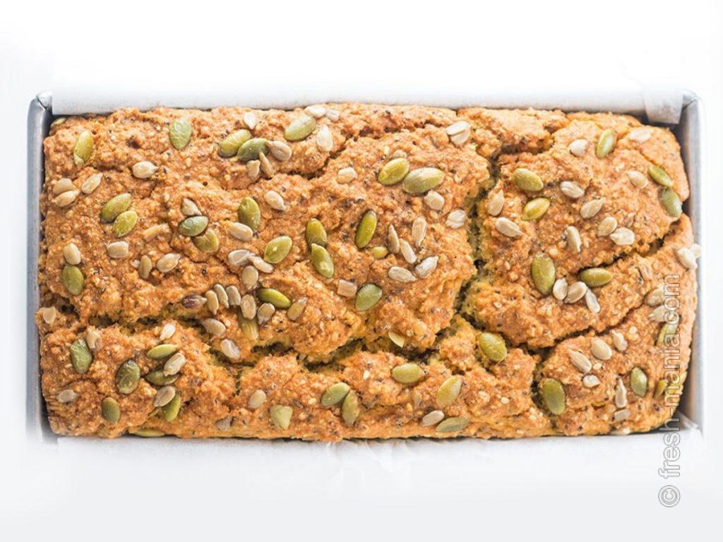 Кето-хлеб на основе кокосовой муки