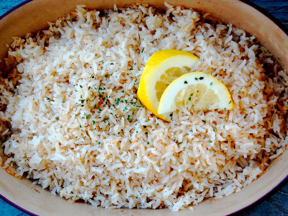 Лимонный рис – оригинальный гарнир
