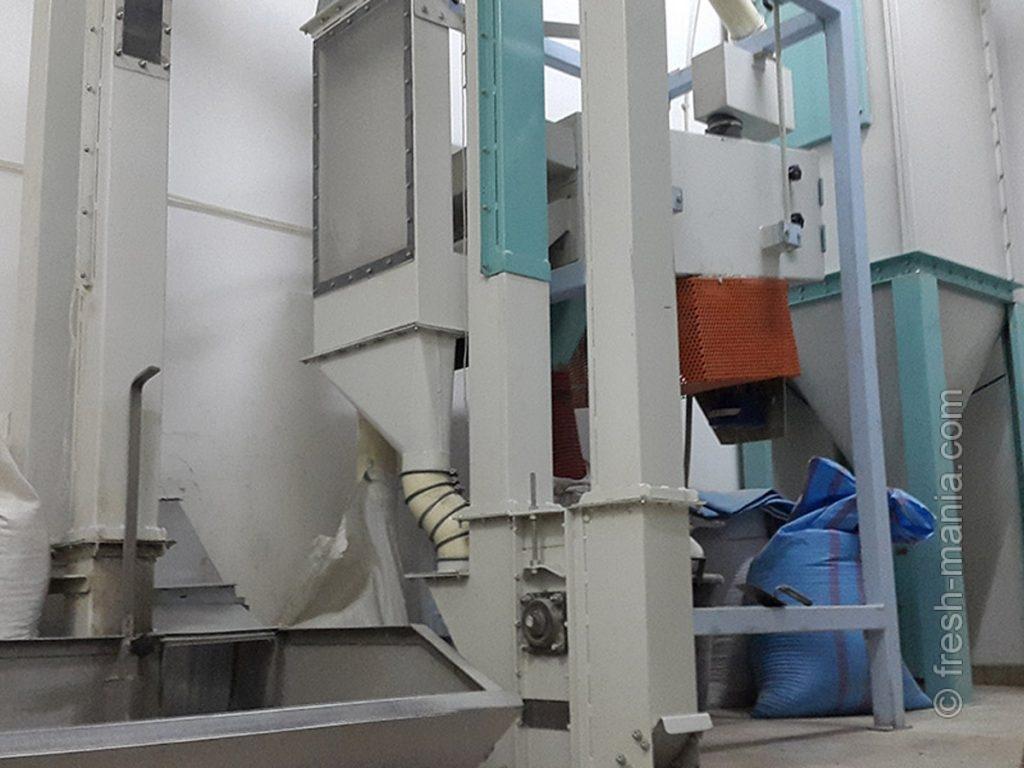 Приготовление муки на мельницах с молотковым механизмом