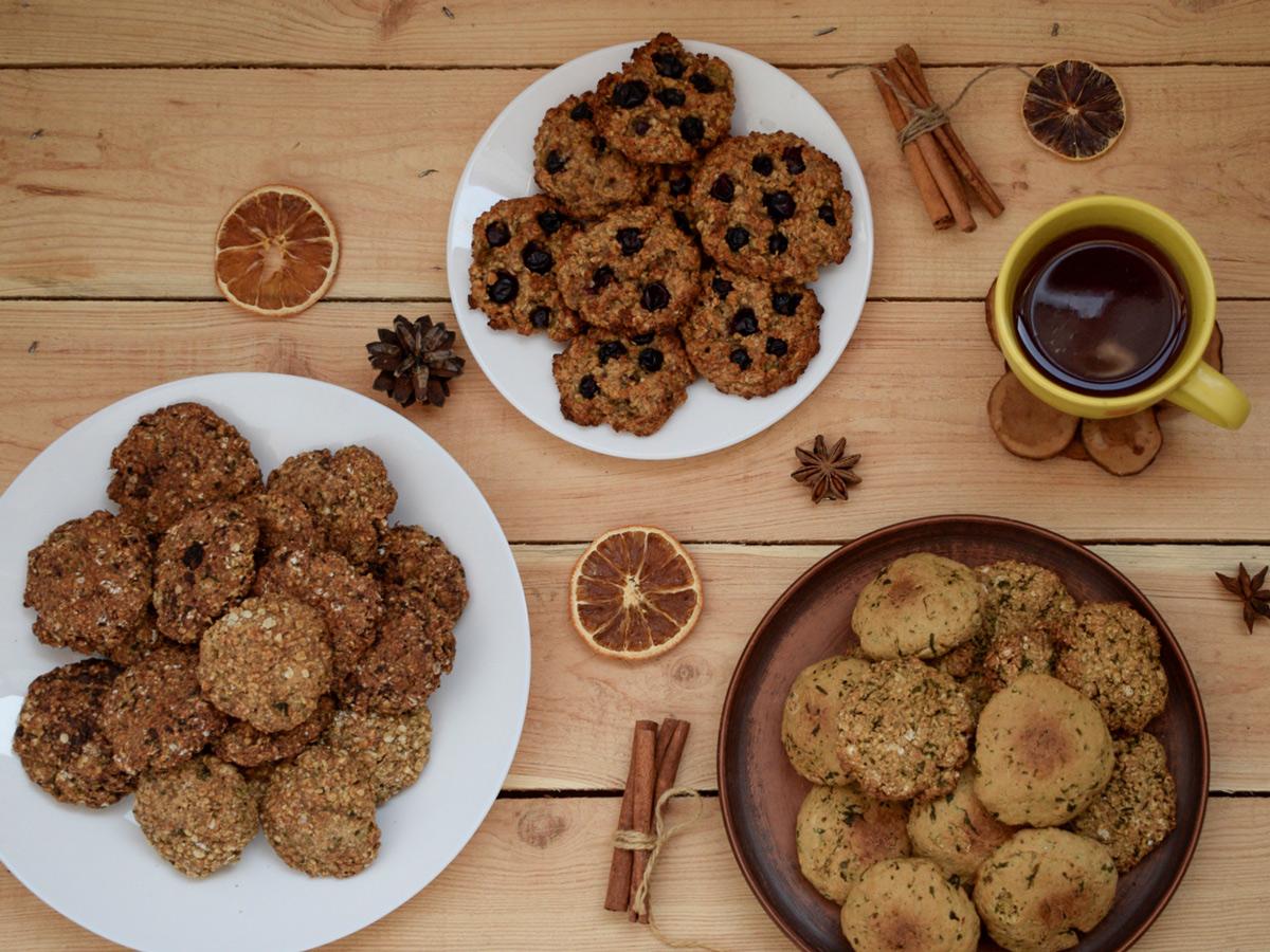 Домашнее овсяное печенье (4 рецепта)