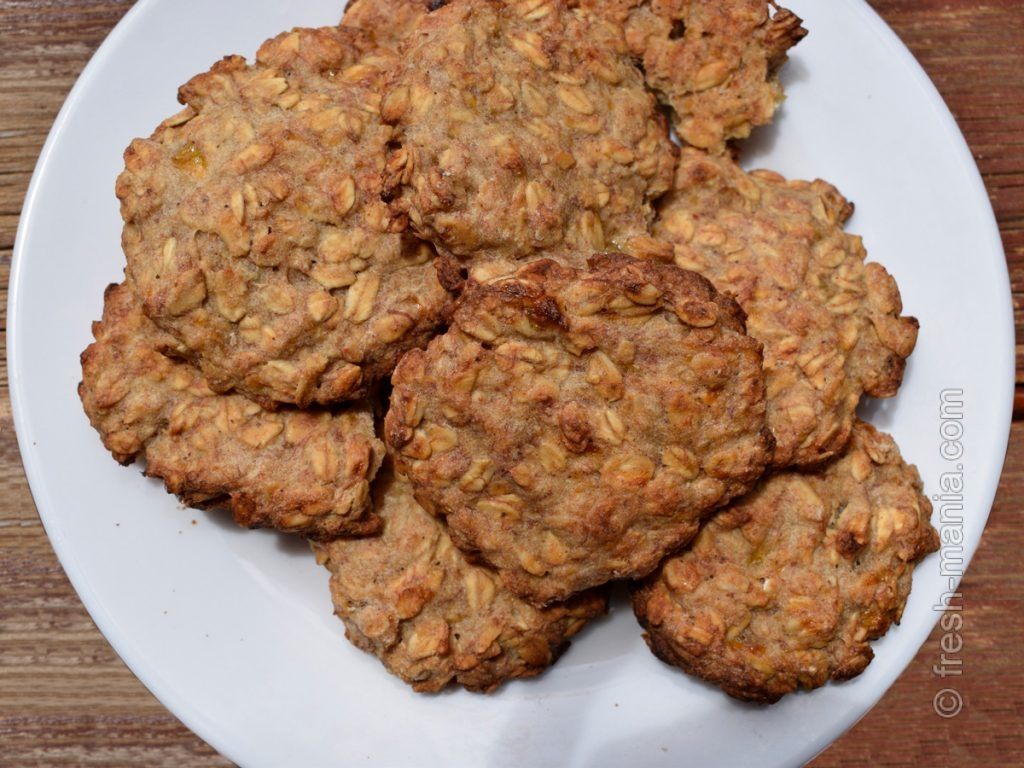 Овсяное печенье с абрикосами