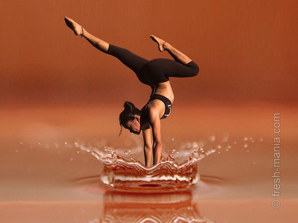 При интенсивных тренировках потребление воды нужно увеличить