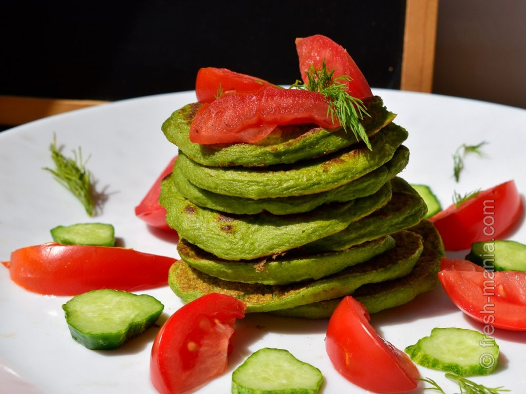 Подавайте со свежими томатами