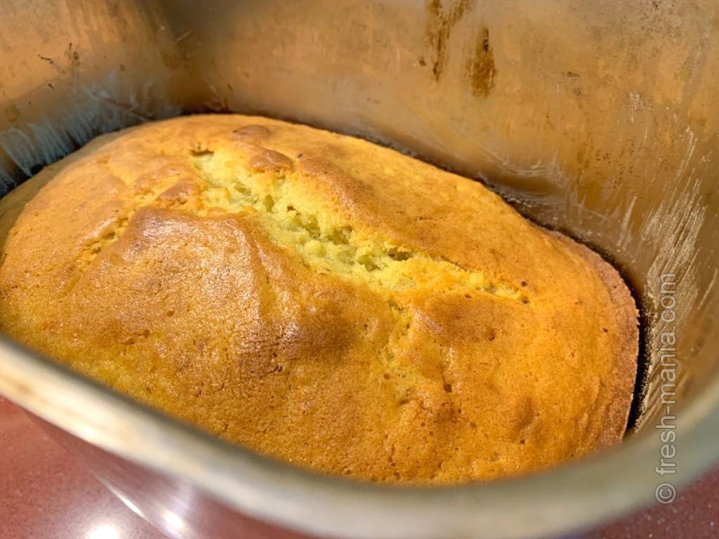 А вот и наш ароматный творожный кекс