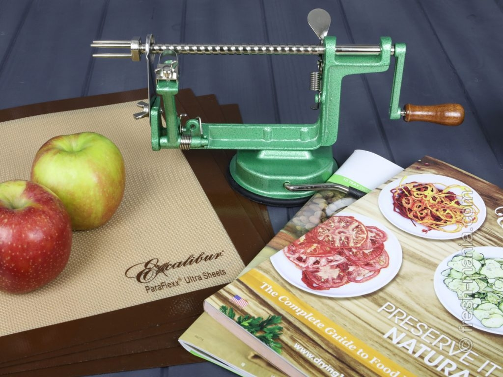 Яблокорезка Ezidri – аксессуар для подготовки яблок