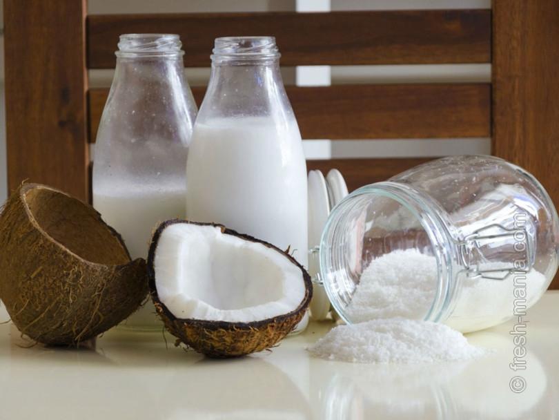 Молоко для любителей кокосового аромата