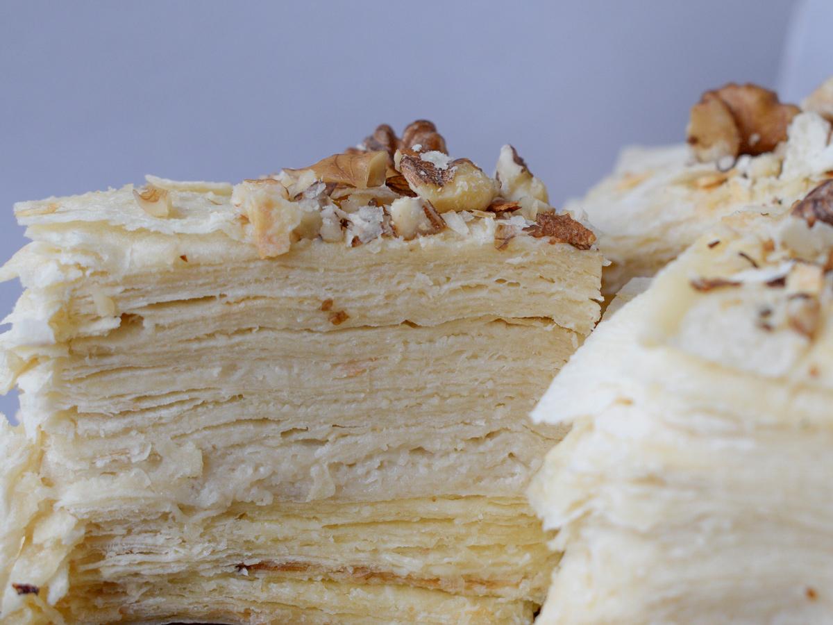 """Веганский """"наполеон"""" из лаваша и кешью. Быстрый рецепт ПП-торта"""