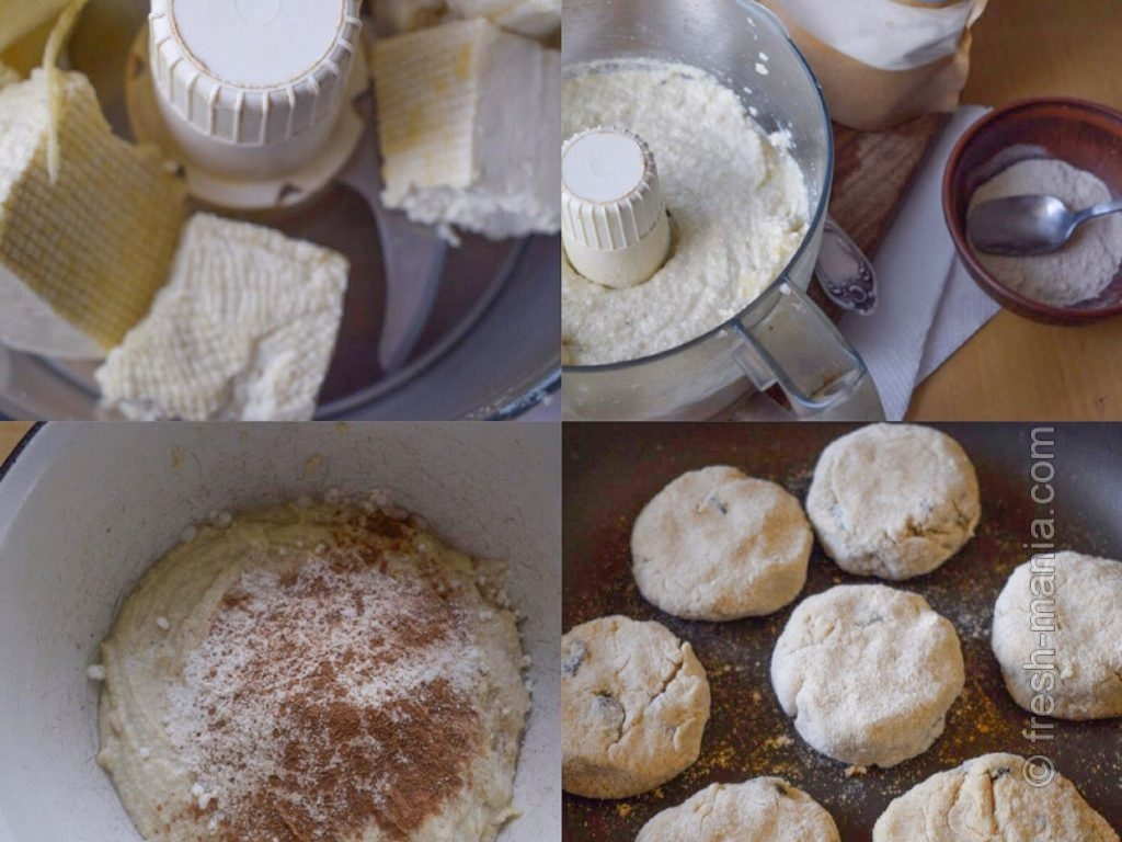 Приготовление веганских сырников